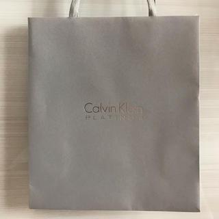 カルバンクライン(Calvin Klein)の《Calvin Klein PLATINUM》のショップ袋 (ショップ袋)