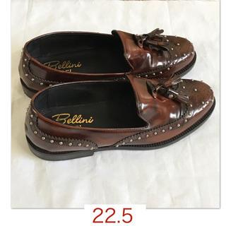 ディエゴベリーニ(DIEGO BELLINI)の【BELLINI/ベリーニ】スタッズ、タッセル付きローファー35(ローファー/革靴)