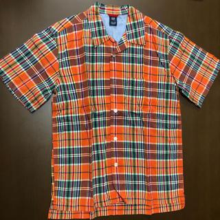 ギャップ(GAP)の半袖シャツ チェックシャツ(シャツ/ブラウス(半袖/袖なし))