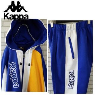 カッパ(Kappa)の激レア 90S カッパ ジャージ セットアップ マルチカラー サイドロゴ (ジャージ)