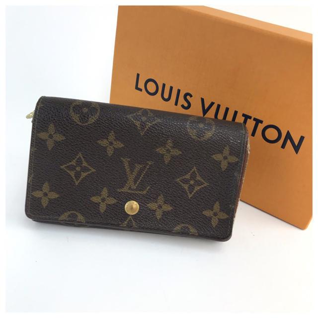 LOUIS VUITTON - ❤️セール❤️ ルイヴィトン モノグラム ポルトフォイユ 二つ折り財布の通販 by 即購入ok ブランドショップ's shop|ルイヴィトンならラクマ