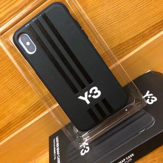 ワイスリー(Y-3)の★新品★ Y-3 MOULDED ブラックレザー iPhone ケース(iPhoneケース)