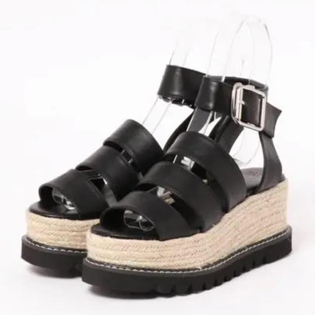SLY(スライ)の【 早い者勝ち 】SLY, JUTE SANDAL レディースの靴/シューズ(サンダル)の商品写真
