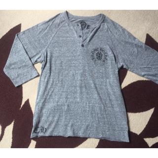 クロムハーツ(Chrome Hearts)の◆クロムハーツ スクロールラベルロゴ ヘンリーネック七分袖◆(Tシャツ(長袖/七分))