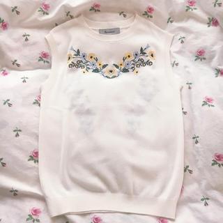 リランドチュール(Rirandture)のリランドチュール ♡刺繍ニット(ニット/セーター)