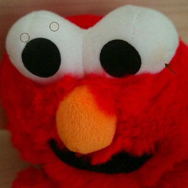 SESAME STREET(セサミストリート)の貴重◆ふわふわ★エルモぬいぐるみセット セサミストリート ファンシー アメリカン エンタメ/ホビーのおもちゃ/ぬいぐるみ(ぬいぐるみ)の商品写真