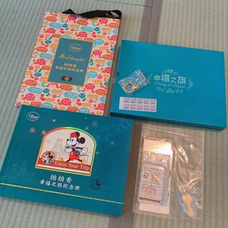 ディズニー(Disney)の上海ディズニーランド オープン記念銀製紙幣 金製チャーム アルバム(貨幣)