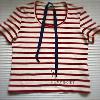 マルニ(Marni)のMARNIボーダーTシャツ(Tシャツ(半袖/袖なし))