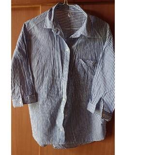 イッカ(ikka)のikka ストライプシャツ(シャツ/ブラウス(半袖/袖なし))
