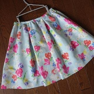 チェスティ(Chesty)のchesty♡チューリップフラワースカート(ひざ丈スカート)