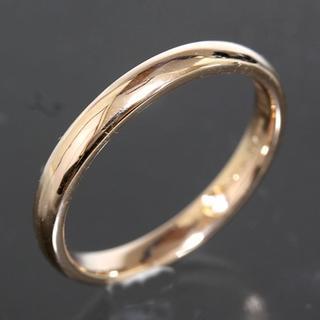 ダミアーニ(Damiani)のダミアーニ DAMIANI シンプル ダイヤ リング 8.5号 K18PG仕上済(リング(指輪))