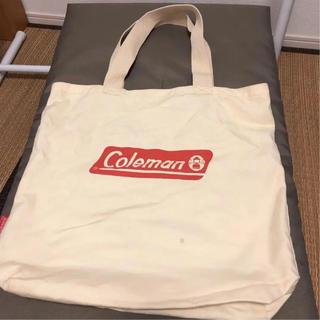 コールマン(Coleman)の【中古1回使用】非売品コールマン Colmanトートバッグ(トートバッグ)