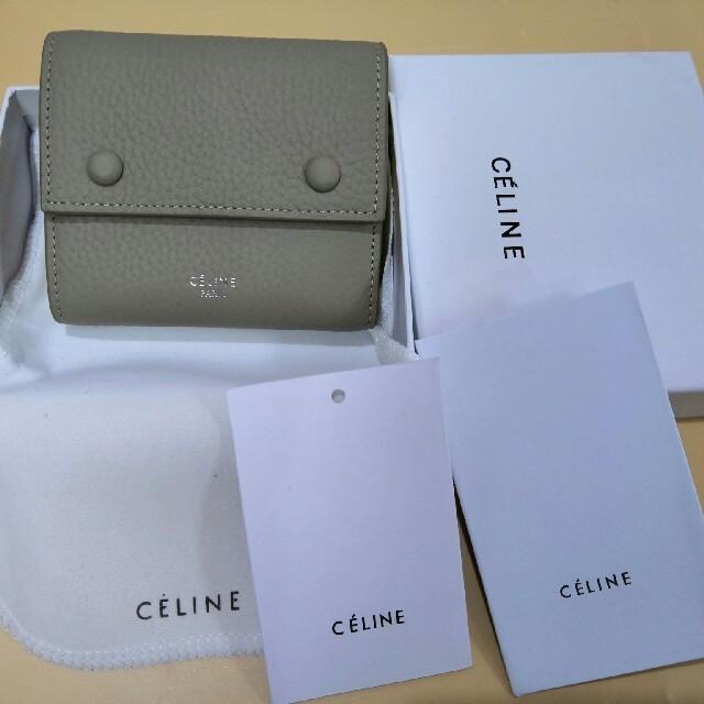 超人気色 三つたたみ セリーヌ 折り 美品 財布 の通販 by ミ🌈😍キ's shop|ラクマ