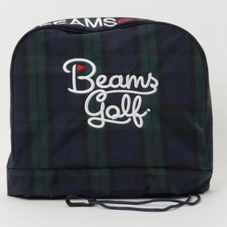ビームス(BEAMS)のBEAMS GOLF ビームス ゴルフ アイアンカバー 新品 ブラック(バッグ)