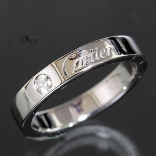 カルティエ(Cartier)のカルティエ cartier エングレーブド ダイヤリング size45 仕上済(リング(指輪))