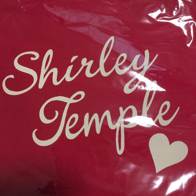 Shirley Temple(シャーリーテンプル)のシャーリーテンプル・ノベルティトートバッグ キッズ/ベビー/マタニティのこども用バッグ(その他)の商品写真