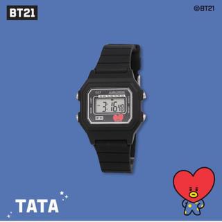 ボウダンショウネンダン(防弾少年団(BTS))のBT21 TATA 腕時計(腕時計)