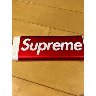 シュプリーム(Supreme)の17FW Supreme mophie encore 20k 充電器 バッテリー(バッテリー/充電器)