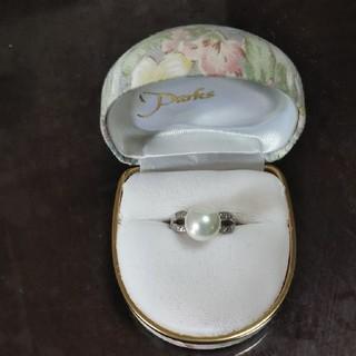 新品  シェルパールリング(リング(指輪))
