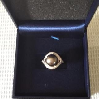 グレーパール  シルバーリング(リング(指輪))