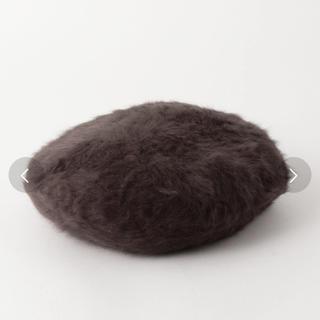 ビューティアンドユースユナイテッドアローズ(BEAUTY&YOUTH UNITED ARROWS)のbeauty&youth アンゴラ混 ベレー帽  試着のみ!(ハンチング/ベレー帽)