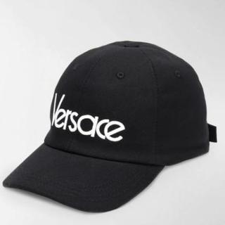 ヴェルサーチ(VERSACE)の新品☆Versace ヴェルサーチ ロゴ キャップ(キャップ)
