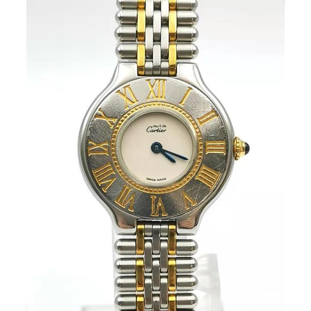 オメガ 時計 セール スーパー コピー 、 Cartier - Cartier  カルティエ  マスト21 クォーツ 時計の通販 by MAU|カルティエならラクマ
