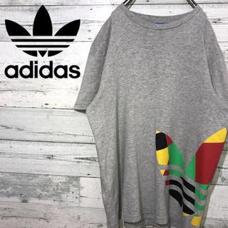 アディダス(adidas)の【レア】アディダスオリジナルス☆ビッグロゴ マルチカラー トレフォイル Tシャツ(Tシャツ/カットソー(半袖/袖なし))