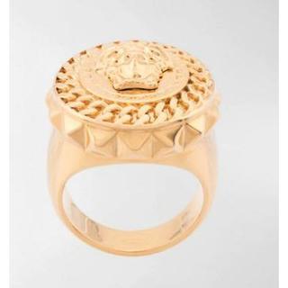 ヴェルサーチ(VERSACE)の新品☆Versace ヴェルサーチ メドューサ リング 指輪(リング(指輪))