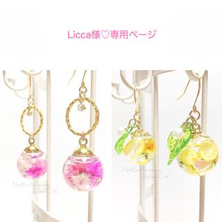 Licca様♡専用ページ(ピアス)