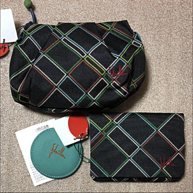 Sybilla(シビラ)のシビラ ポーチセット 新品 10日まで値下げ☆ レディースのファッション小物(ポーチ)の商品写真