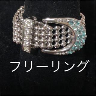 パライバ ダイヤ ベルト リング 未使用(リング(指輪))