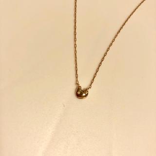 ツモリチサト(TSUMORI CHISATO)のネックレス ツモリチサト ピンクゴールド 10K 美品(ネックレス)