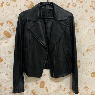 アンタイトル(UNTITLED)のマリンハート様専用 アンタイトル 羊革 ジャケット ブラック(ライダースジャケット)