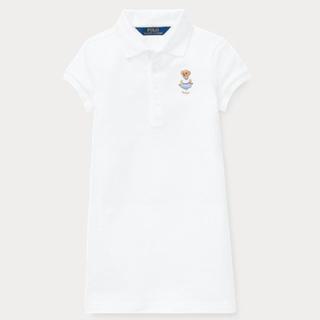 ラルフローレン(Ralph Lauren)の新品♡Ralph Lauren ポロベア ポロシャツワンピース 新作♡ 95(ワンピース)
