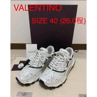 ヴァレンティノ(VALENTINO)の☆極美品☆ VALENTINO バウンス スニーカー 18aw(スニーカー)