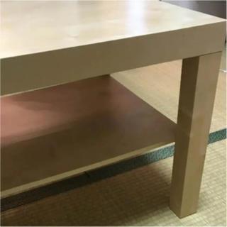 イケア(IKEA)の引き取り限定 イケア ナチュラルブラウン コーヒーテーブル(コーヒーテーブル/サイドテーブル)