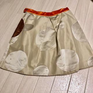 ツモリチサト(TSUMORI CHISATO)のツモリチサト スカート 美品(ひざ丈スカート)