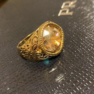 デザインリング ゴールド キラキラ 15号(リング(指輪))