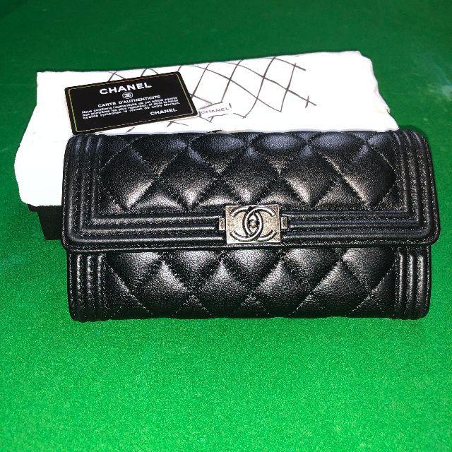gaga milano 偽物 、 シャネルの財布品未使用の通販 by テリフ's shop|ラクマ