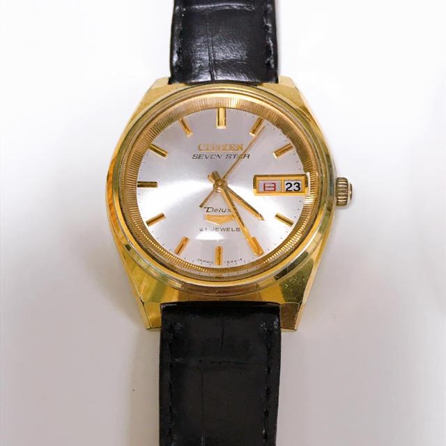 ブランド 偽物 激安通販サイト | CITIZEN - CITIZEN 7 セブンスターオートマチック 腕時計の通販 by 888|シチズンならラクマ