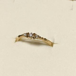 アガット(agete)のアガット  K18ダイヤリング(リング(指輪))