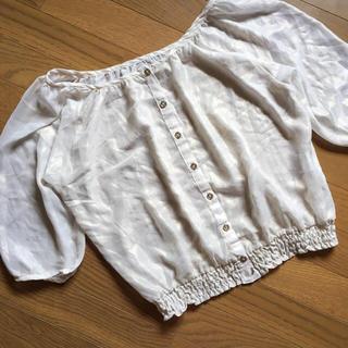 ハニーズ(HONEYS)の透け感 トップス(シャツ/ブラウス(半袖/袖なし))