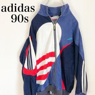 adidas - ★超希少★ adidas アディダス ブルゾン  90s 古着 菅田将暉