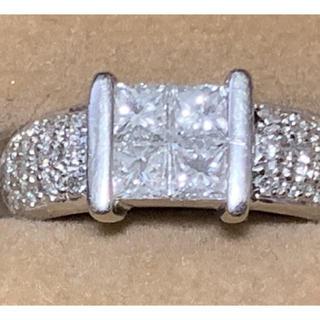 【セール】ダイヤモンドリング  プラチナ  0.84カラット(リング(指輪))