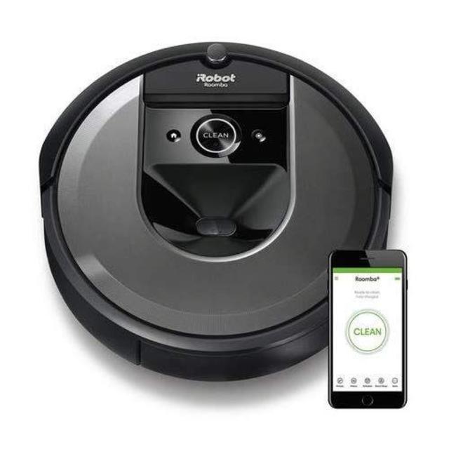 iRobot(アイロボット)のルンバi7 アイロボット 最新のロボット掃除機 水洗いできるダストボックス wi スマホ/家電/カメラの生活家電(掃除機)の商品写真