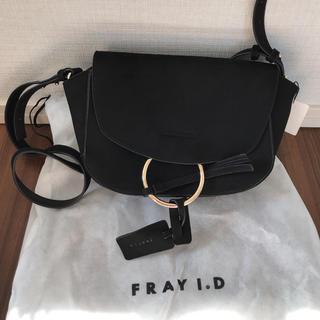 フレイアイディー(FRAY I.D)の✳︎新品未使用タグ付き✳︎ FRAY I.D ブラックショルダーバッグ(ショルダーバッグ)