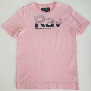 ジースター(G-STAR RAW)のG-STAR RAW ジースターロウ 半袖Tシャツ ピンク M メンズ(Tシャツ/カットソー(半袖/袖なし))