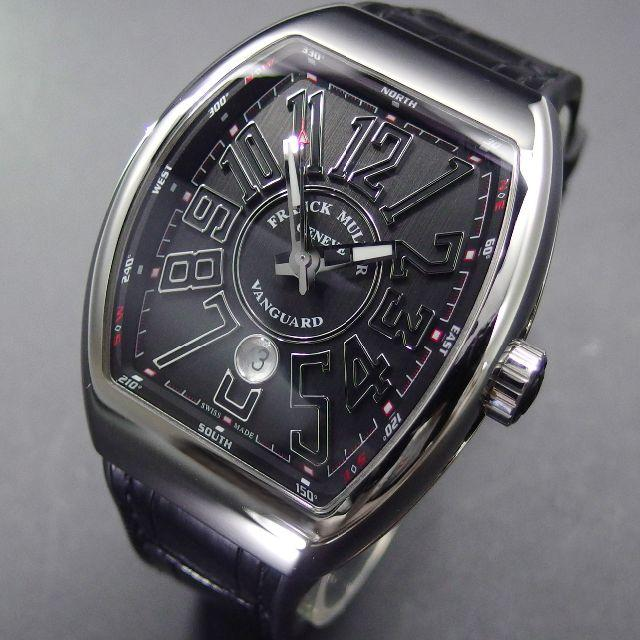 ウブロコピー時計 おすすめ - FRANCK MULLER - 超美品 フランク・ミュラー ヴァンガード ブラック V45SCDTの通販 by yoshi shop|フランクミュラーならラクマ