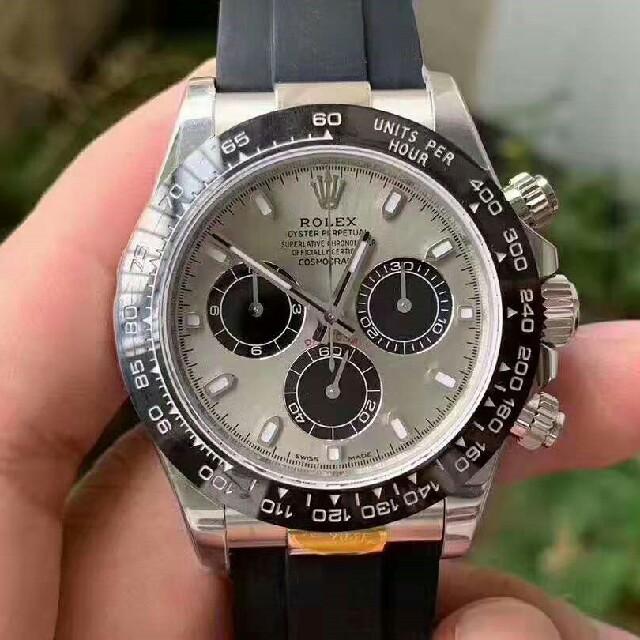 ゼニス偽物時計大丈夫 / デイトナ セラミックベゼル 904L AR 最新改良版の通販 by l-嫌な感じですね's shop|ラクマ